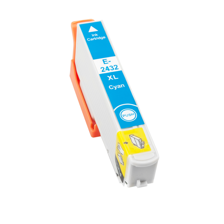 Druckerpatrone XXL ProSerie kompatibel zu Epson T2432 cyan 24XL