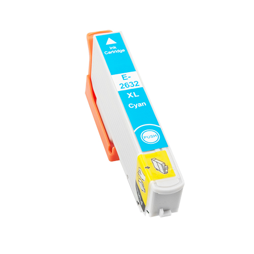 Druckerpatrone XXL ProSerie kompatibel zu Epson T2632 cyan 26XL