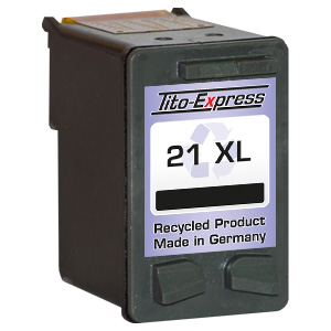 Druckerpatrone XXL recycled ProSerie. Ersetzt HP 21