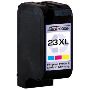 Druckerpatrone XXL recycled ProSerie. Ersetzt HP 23