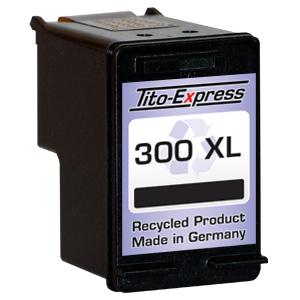 Druckerpatrone XXL recycled ProSerie. Ersetzt HP 300XL Black