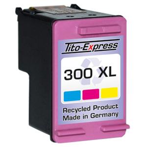 Druckerpatrone XXL recycled ProSerie. Ersetzt HP 300XL Color