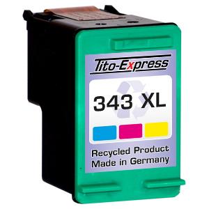 Druckerpatrone XXL recycled ProSerie. Ersetzt HP 343