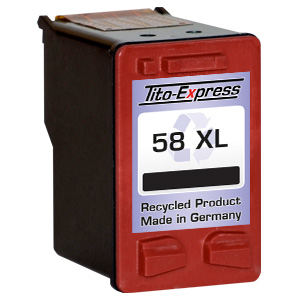 Druckerpatrone XXL recycled ProSerie. Ersetzt HP 58