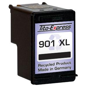 Druckerpatrone XXL recycled ProSerie. Ersetzt HP 901XL Black