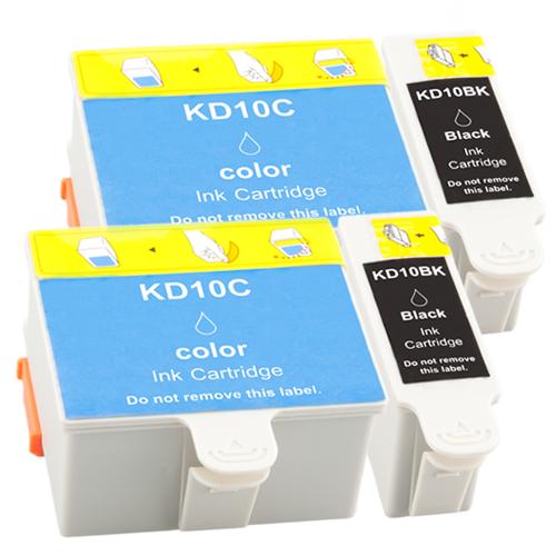 Sparset 4 Patronen XXL ProSerie kompatibel zu Kodak 10