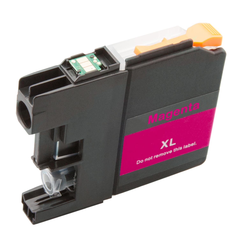 Druckerpatrone XXL ProSerie kompatibel zu Brother LC-121 LC-123 magenta