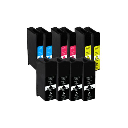 Sparset 10 Patronen XXL ProSerie kompatibel zu Lexmark 100 XL