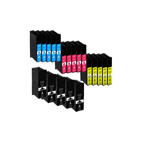Sparset 20 Patronen XXL ProSerie kompatibel zu Lexmark 100 XL