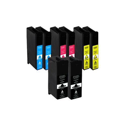 Sparset 5 Patronen XXL ProSerie kompatibel zu Lexmark 150 XL