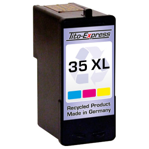 Druckerpatrone XXL recycled ProSerie. Ersetzt Lexmark 35