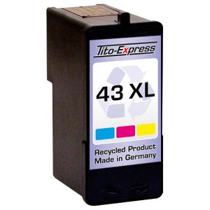 Druckerpatrone XXL recycled ProSerie. Ersetzt Lexmark 43