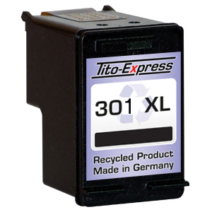 Druckerpatrone XXL recycled ProSerie. Ersetzt HP 301XL Black