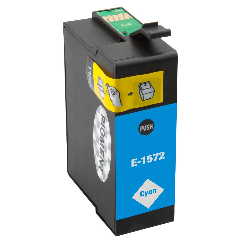 Druckerpatrone XXL ProSerie kompatibel zu Epson T1572 cyan