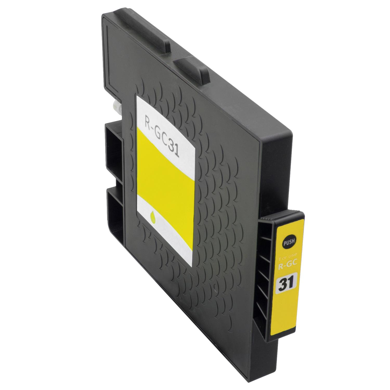 Gelkartusche XXL ProSerie kompatibel zu Ricoh GC-31 yellow